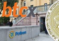 Bitcoinväxlaren BTCX utbildar svensk polis i kryptobrott: