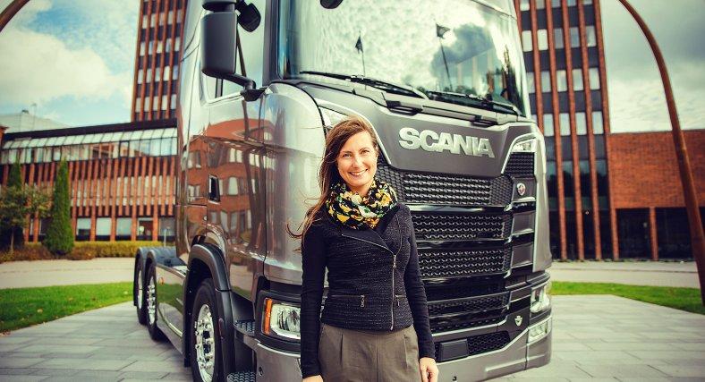 Scania utvecklar framtidens nyckelspelare
