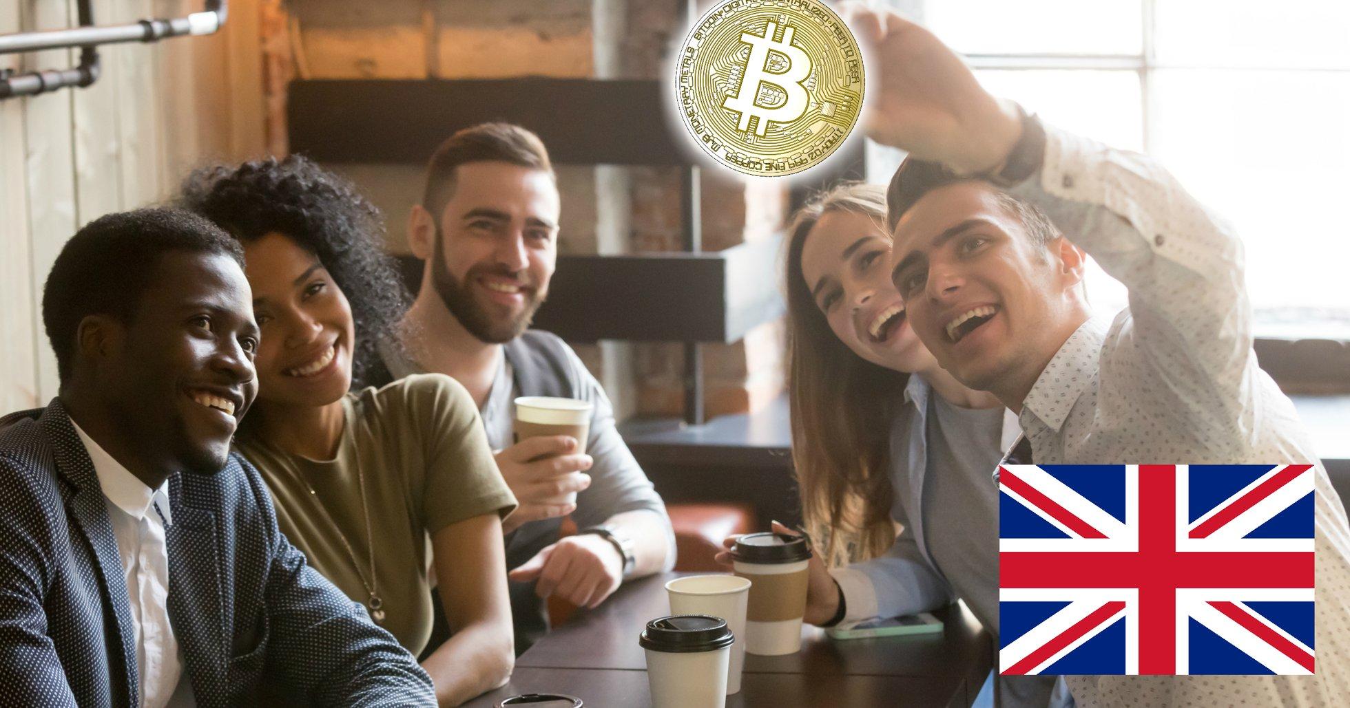 Ny undersökning: 20 procent av välbärgade brittiska millennials har investerat i bitcoin.