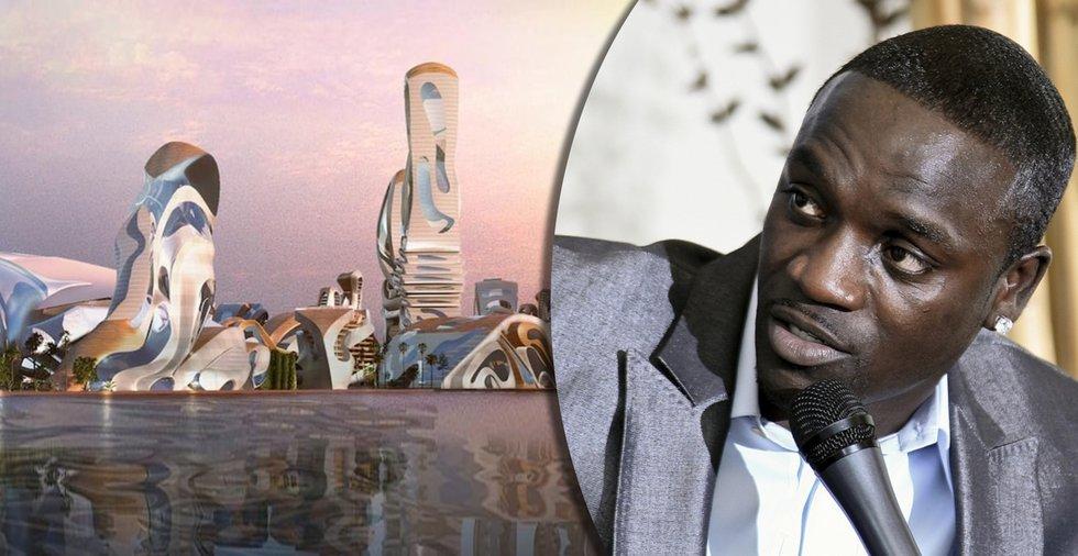 Akons senegalesiska kryptostad har börjat byggas – ska påminna om Wakanda