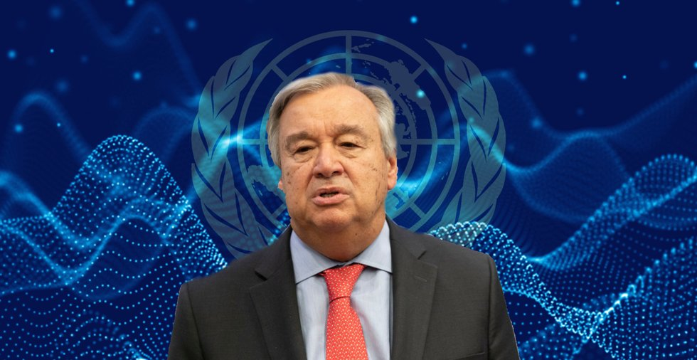 UN Secretary-General: Moving forward, we will need blockchain technology