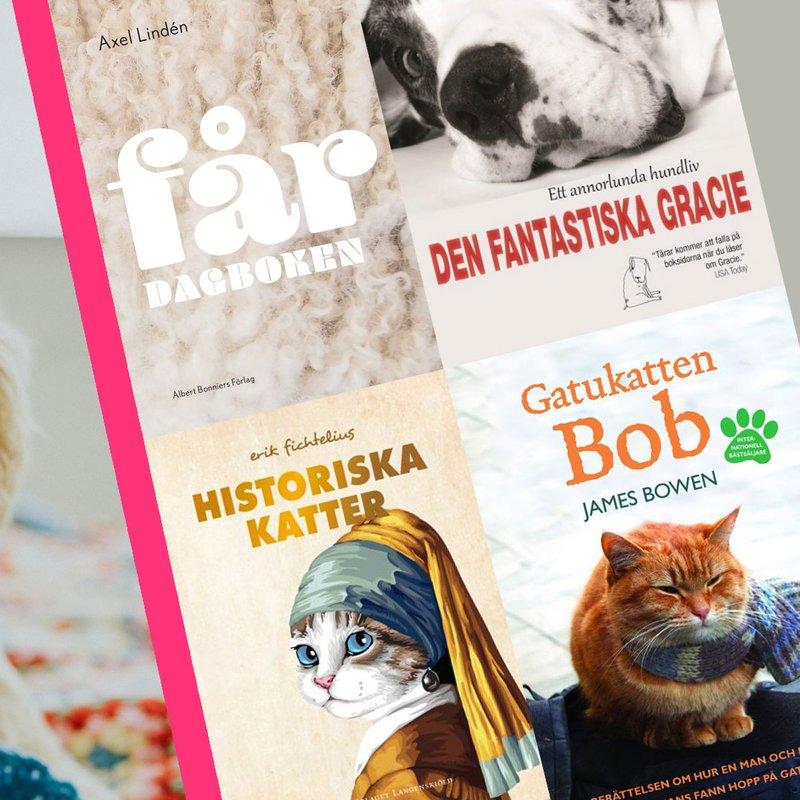 5 varma och charmiga böcker med djur i huvudrollen
