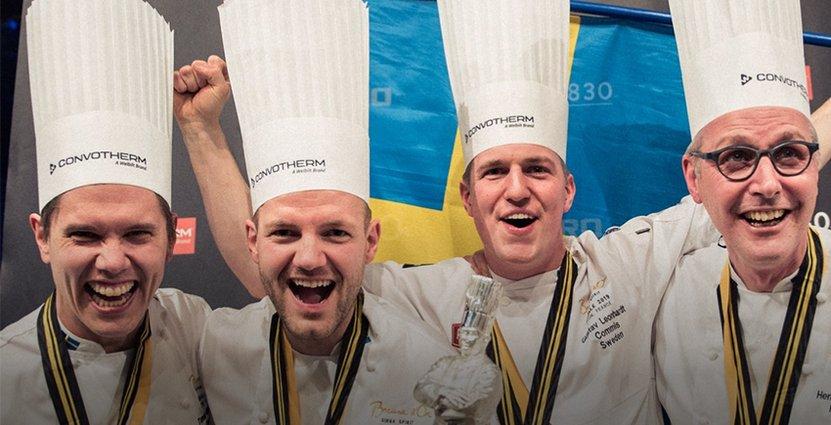 Mest läst 2019 var beskedet om att Sebastian Gibrand och hans team tog hem svenskt silver i Bocuse D'Or. Foto: Emil Andersson