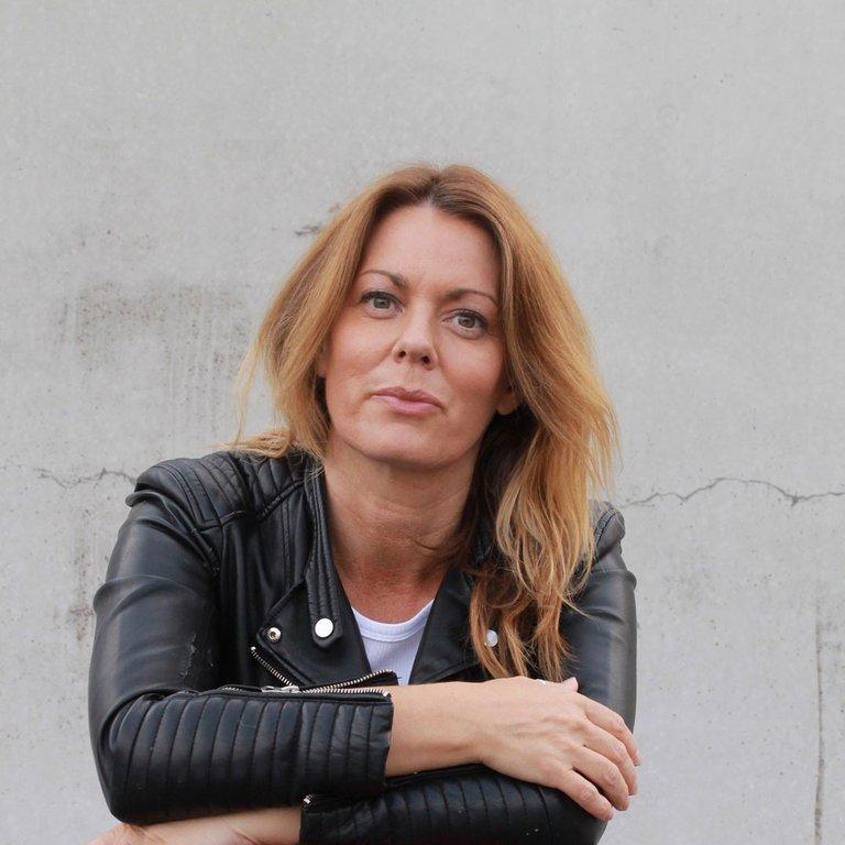 Anne Swärd, författare. Foto: Henric Tiselius