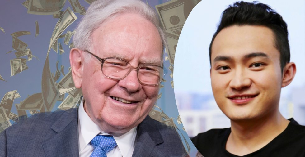 Efter förseningarna – kryptoprofilen Justin Sun har nu ätit sin miljonlunch med Warren Buffett