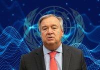 FN:s generalsekreterare: Blockkedjetekniken kommer bli viktig för oss framåt