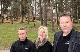 Deras affärsidé: Camping med hotellstandard