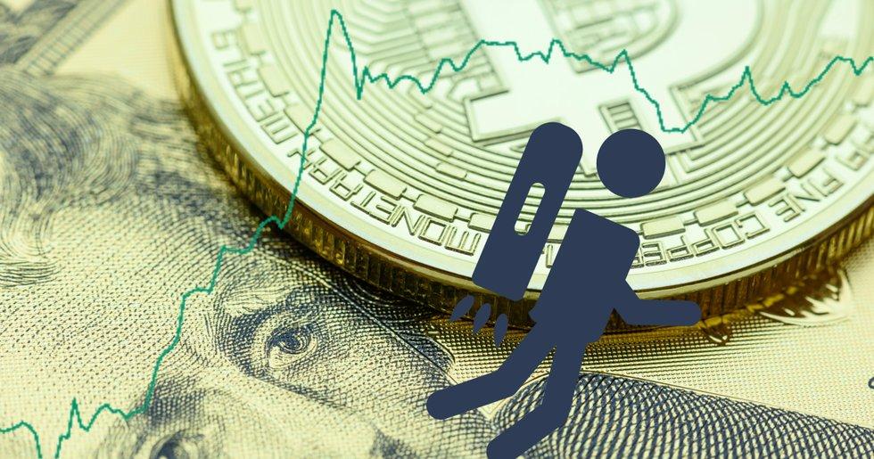 Bitcoinpriset över 8 000 dollar igen – efter flera dagar av uppgångar.