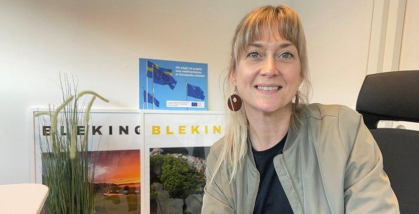 Lotta Johansson, projektledare på Visit Blekinge. Foto: Privat