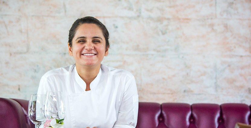 Att hon är en förebild för kvinnliga kockar har Garima Aroras inte reflekterat över. Foto: Pressbild