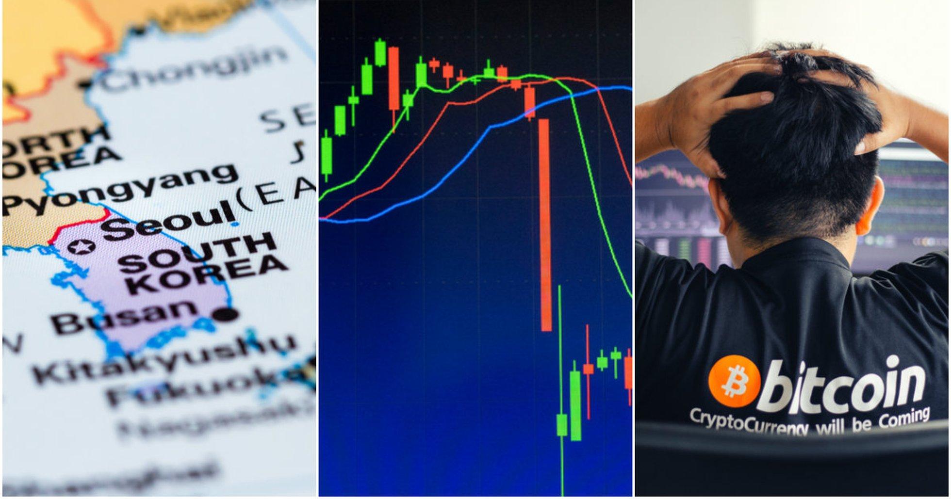 Kryptodygnet: Sydkoreansk börs hackad och blodigt på marknaderna.