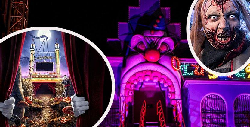 Halloween blir en allt viktigare säsong för nöjesparkerna, som i år har gjort ännu större investeringar i läskigheter. Foto: Liseberg, Gröna Lund