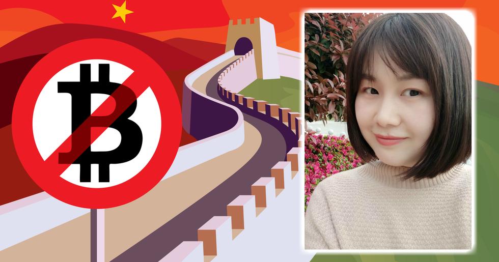 Justina Zheng: Crypto ban does not suppress rapid growth of blockchain in China.