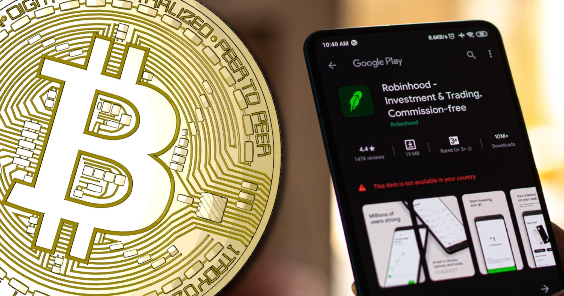 Tradingappen Robinhood ska låta sina användare ta ut och sätta in kryptovalutor