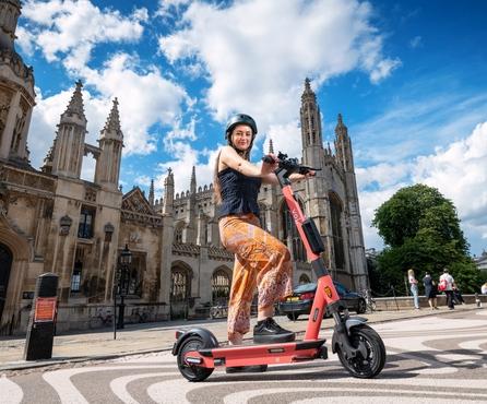 Say hello to Voi e-scooters, Cambridge!