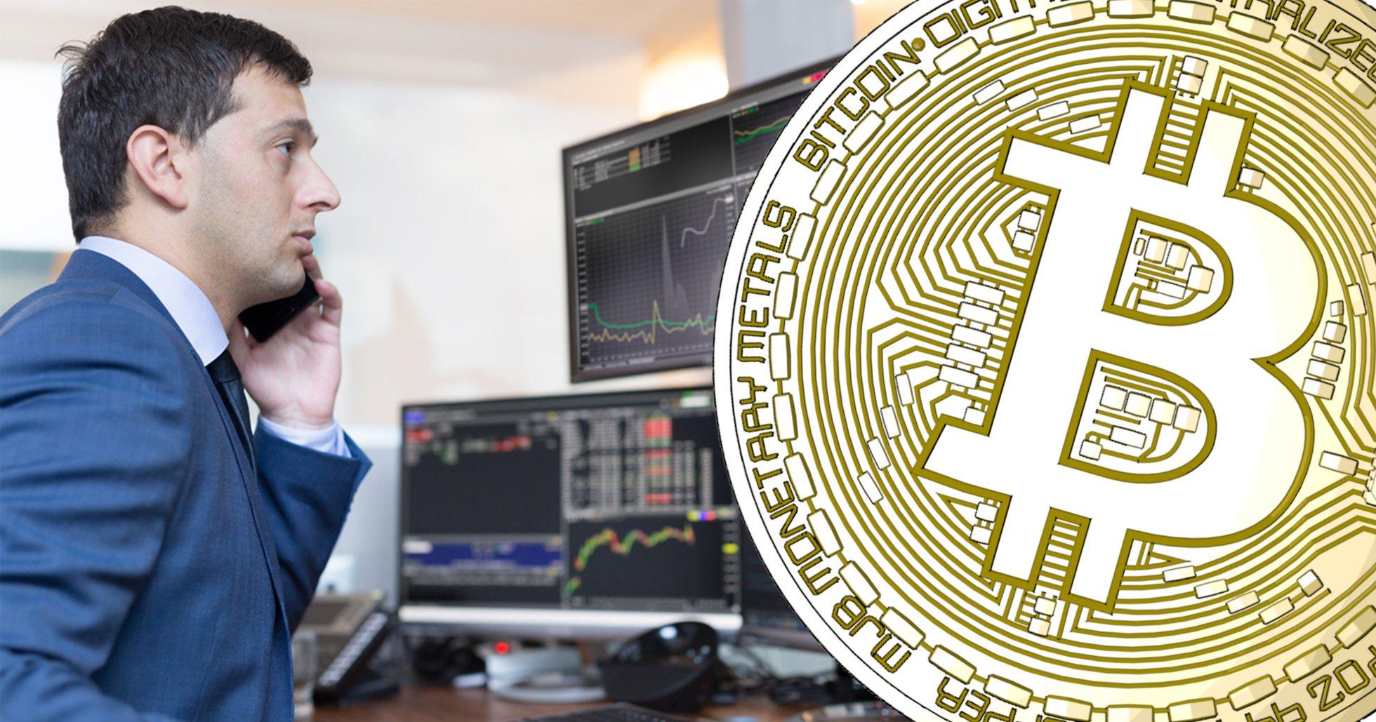 Finansinstitut handlar upp till tre gånger mer med kryptovalutor jämfört med för ett år sedan