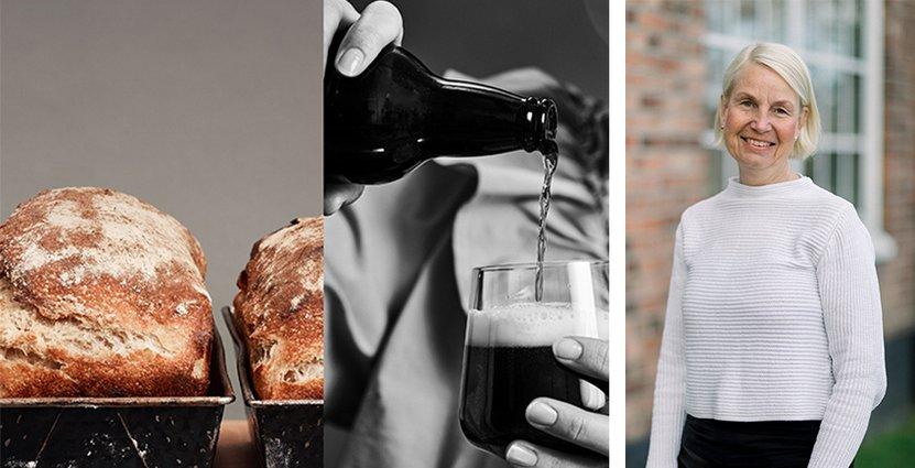 Bageri och bryggeri i symbios förväntas bli Nääs Fabrikers nästa gästmagnet.  Foto: Nääs Fabriker