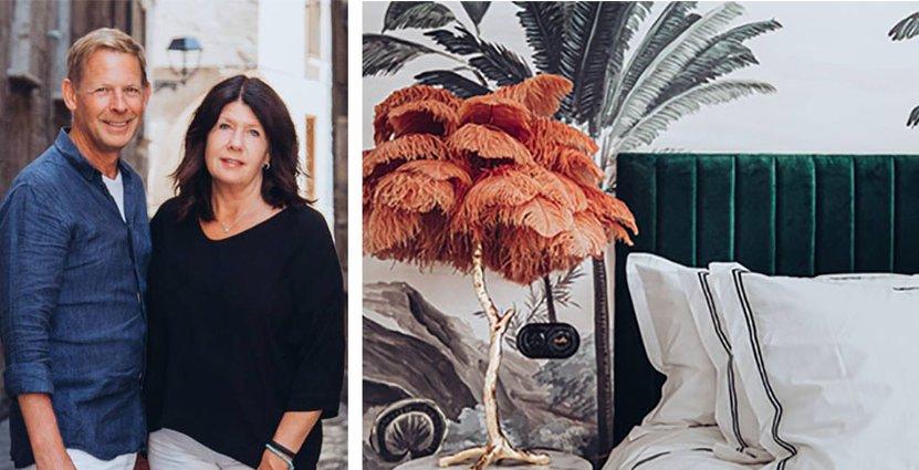 Maria och Johan Eklunds nya hotell och restaurang på<br />  Mallorca öppnar den 12 september. Foto: Pressbild