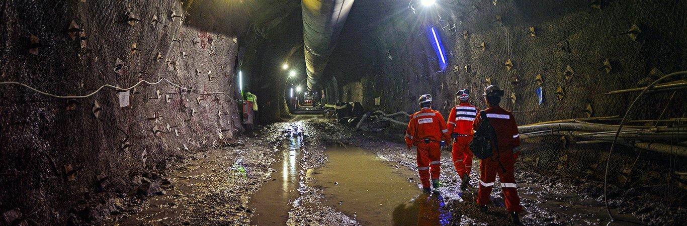 For a safer underground