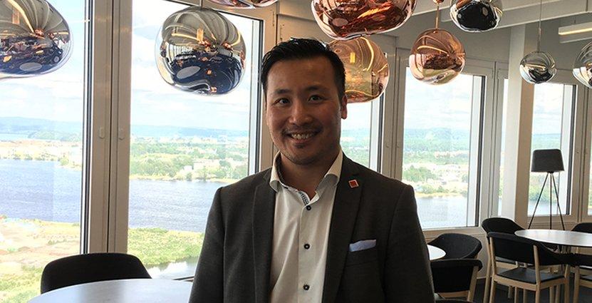 Kent Ly, ägare av Junglethai och ordförande i Taste JKGP är nöjd efter mötet med stadens politiker.