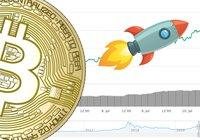 Bitcoin över 13 000 dollar –