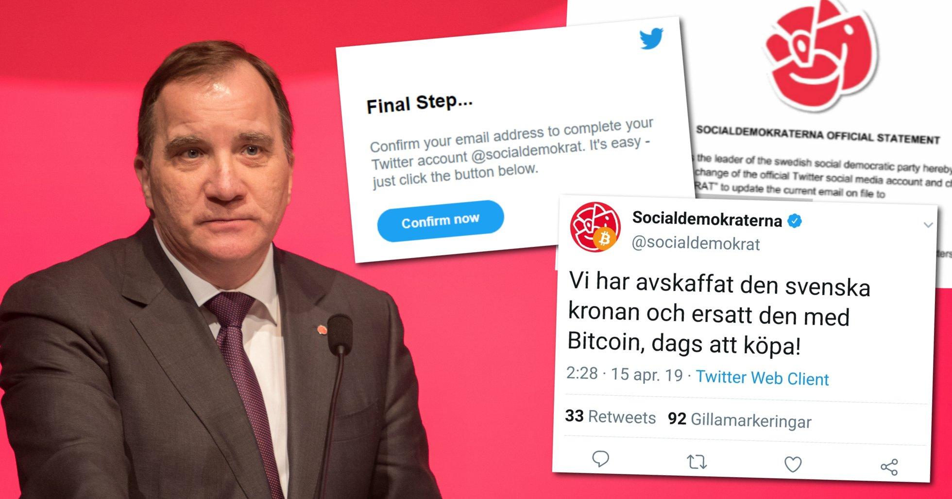 Socialdemokraternas twitterkonto blev hackat. Nu berättar hackarna hur de gjorde och vad syftet var.