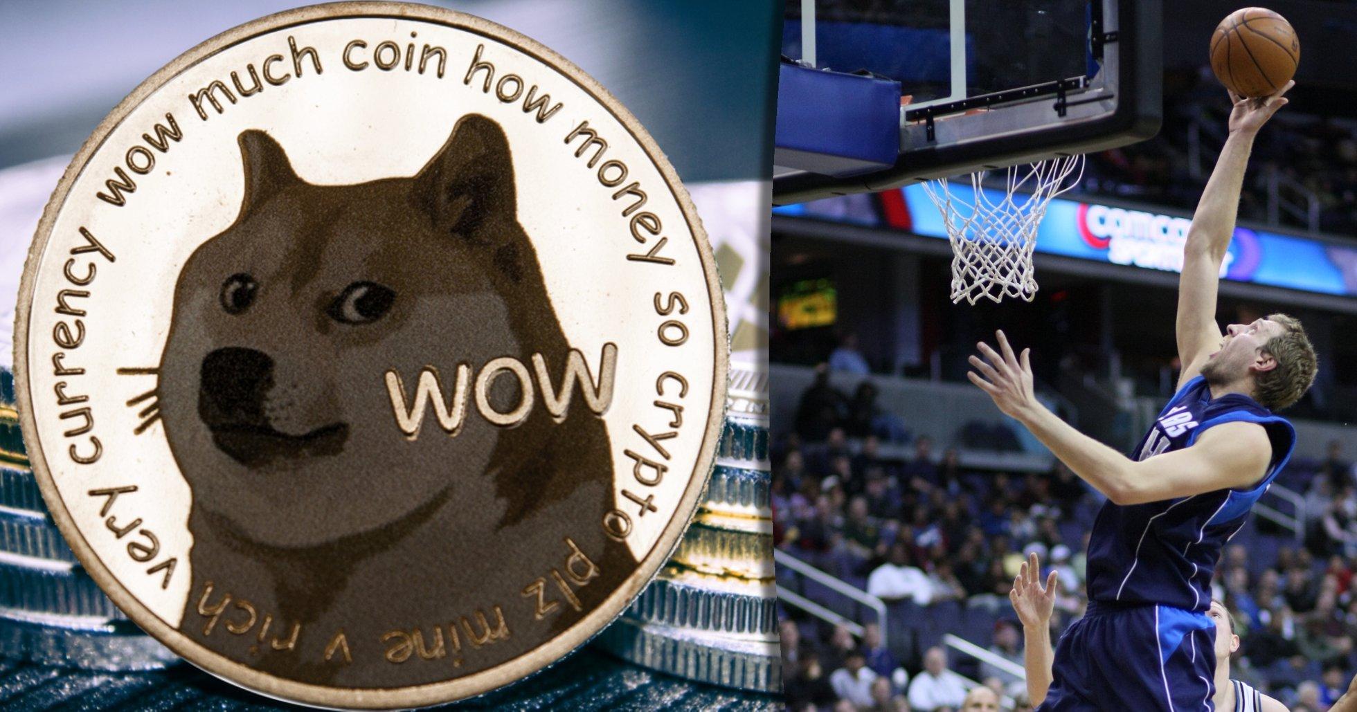 NBA-laget Dallas Mavericks börjar ta betalt i dogecoin