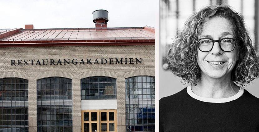 Hanna Halpern lämnar efter tio år sin post som vd för Restaurangakademien. Foto: Restaurangakademien