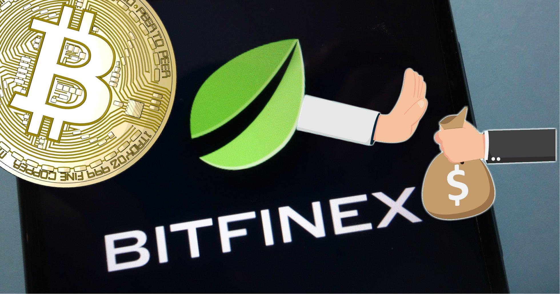 Kryptobörsen Bitfinex stoppar insättningar av fiatpengar.
