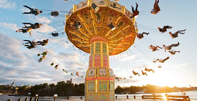 Nu ska det bli möjligt för nöjesparkerna att öppna – men med nya restriktioner. Foto: Gröna Lund