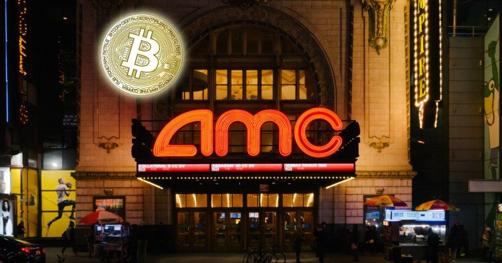Biografkedjan AMC börjar ta emot bitcoinbetalningar