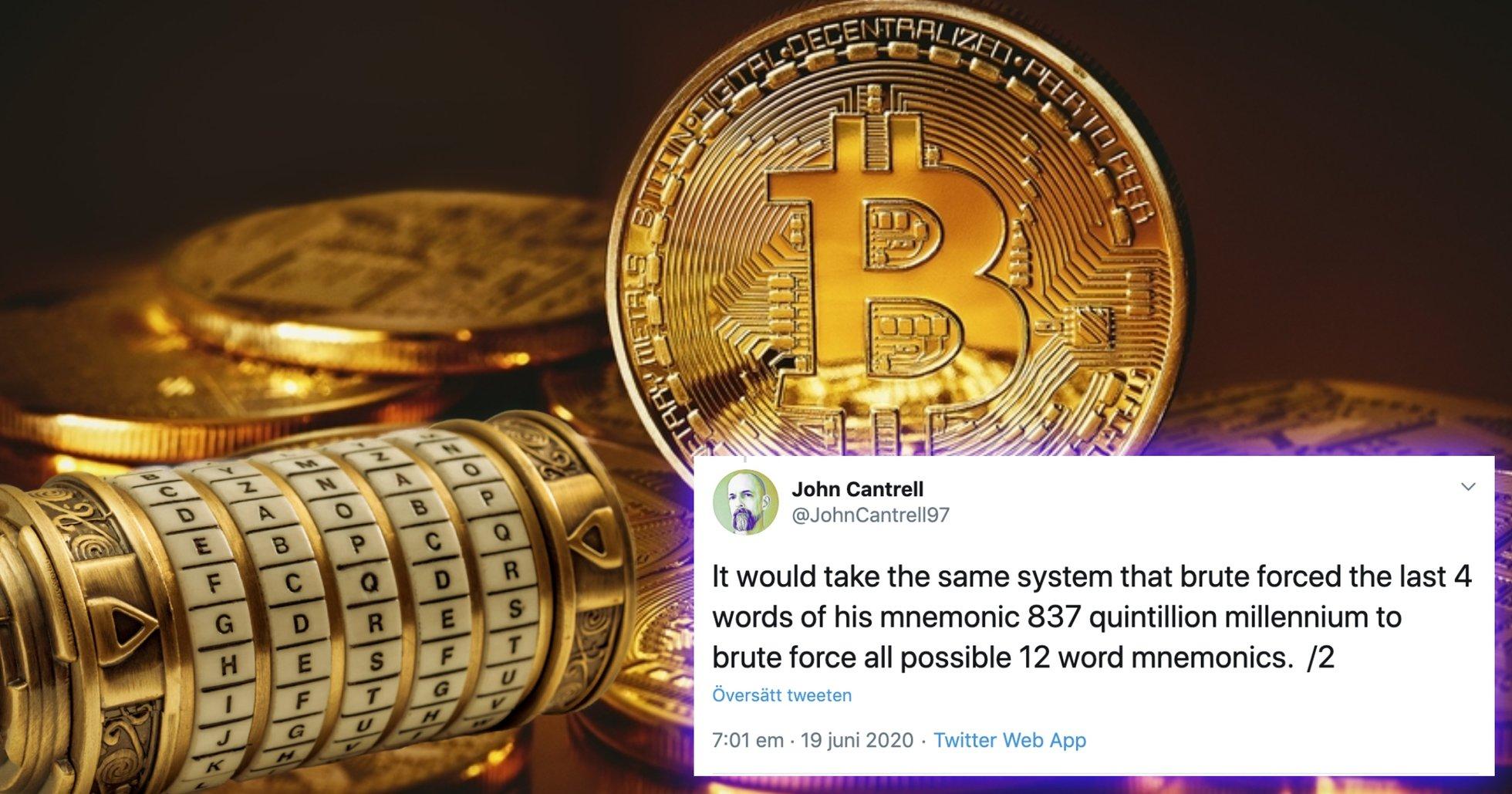 Utvecklare som lyckades hacka bitcoinadress: Därför är kryptovalutan fortfarande säker