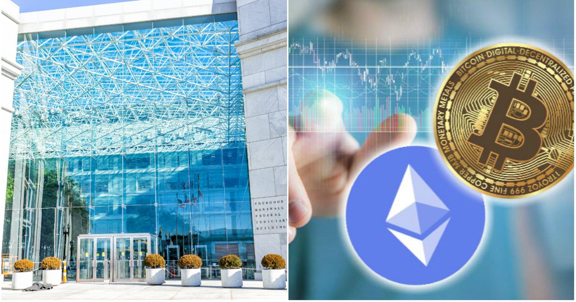 USAs vardepappers- och borskommission bitcoin och ethereum ar inte vardepapper.