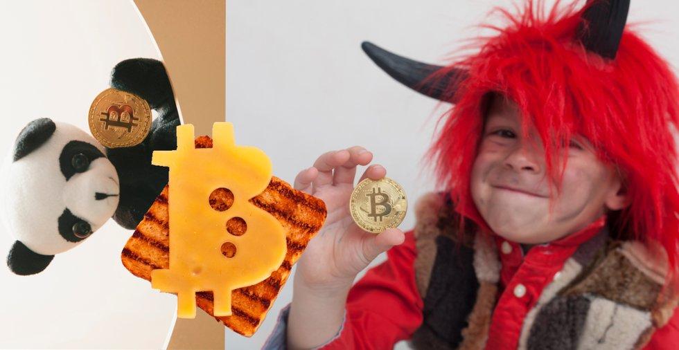 De 10 konstigaste bitcoinbilderna på Shutterstock