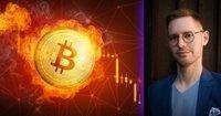 Bitcoinpriset rasar 17 procent: