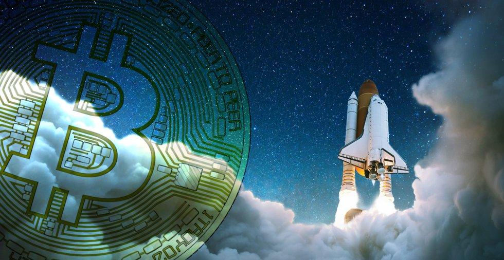 Bitcoinpriset rusade över 10 000 dollar – bara dagar innan halveringen