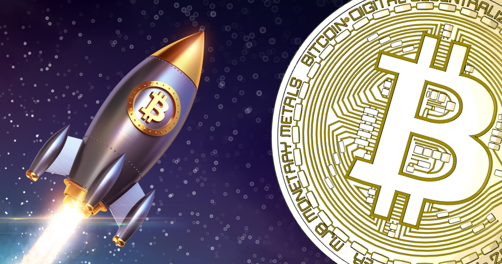 Bitcoin rallies over 15 percent to $4,800 – highest level in four months.