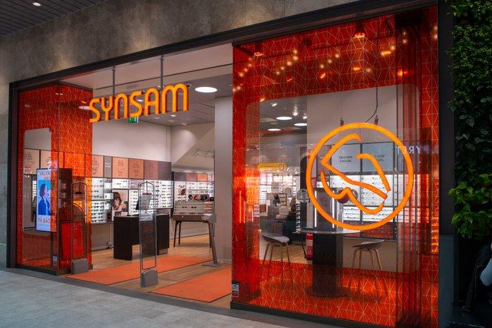 En av Synsams 199 butiker i Sverige. Idag invigs Synsam i Asecs-galleria, Jönköping