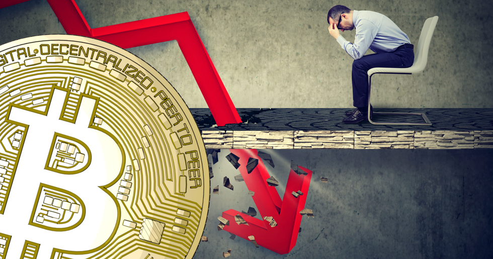 Crypto markets continue to decline – bitcoin tests the $3,500 level.