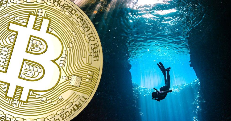 Bitcoinpriset dyker under 7 000 dollar – ner 7,6 procent sedan toppen i tisdags.