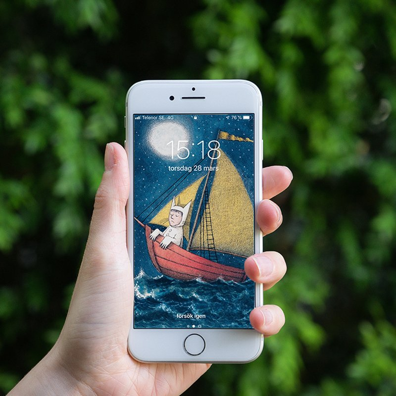 22 vackra illustrationer från böcker att ha som bakgrund i mobilen