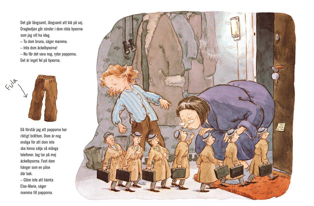 7 barnbokspappor vi älskar – och en vi är livrädda för