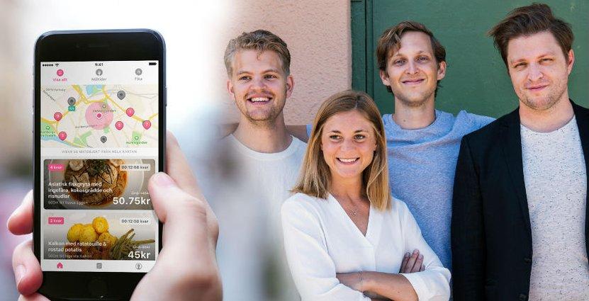 Karmas grundare: Hjalmar Ståhlberg Nordegren, Elsa Bernadotte, Ludvig Berling och Mattis Larsson, tar in nytt kapital och siktar på expansion.