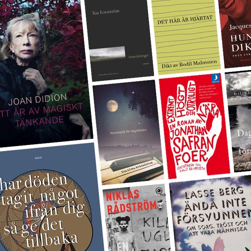 10 böcker som kan ge tröst i sorgen