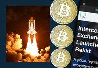 Handelsvolymen för Bakkts bitcoinkontrakt rusar med 796 procent