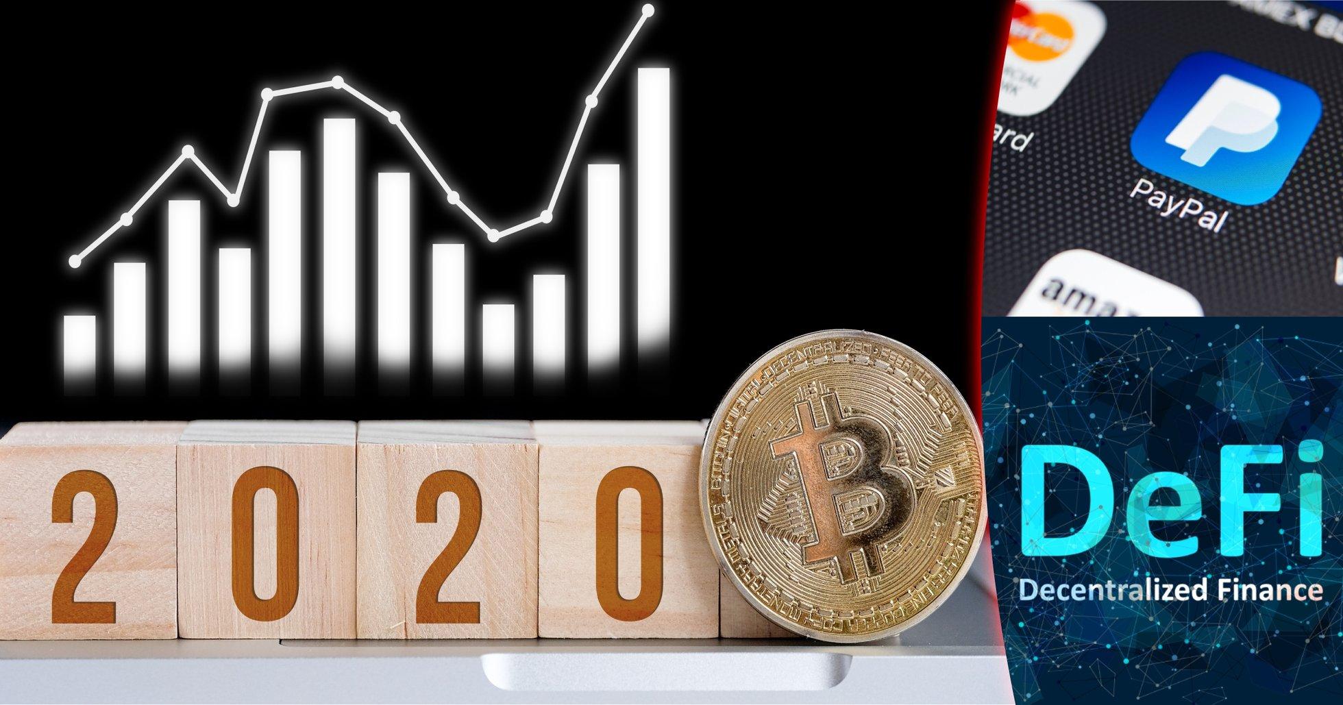 Här är de 5 viktigaste händelserna i kryptovärlden 2020.