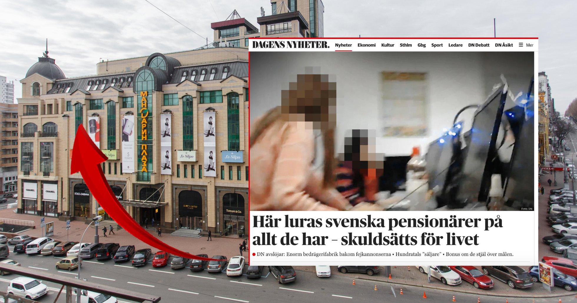 Här avslöjas bitcoinbedragarna – lurar svenskar från callcenter i Kiev.