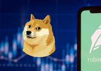 62 procent av tradingappen Robinhoods kryptoomsättning kommer från dogecoin