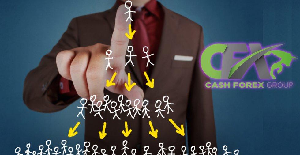 MLM-företaget Cash Forex Group anklagas för att vara ett pyramidspel