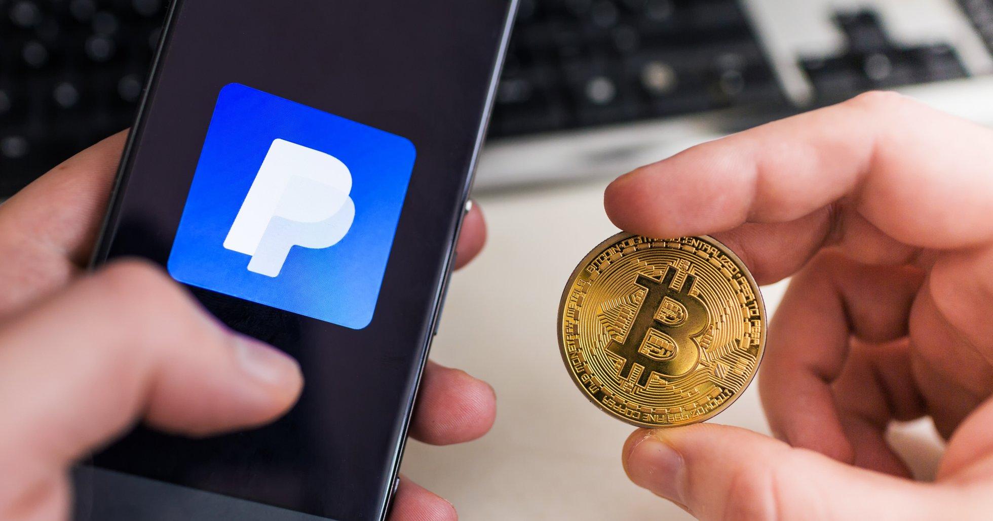 Uppgifter: Paypal planerar lansera handel med riktiga kryptovalutor.